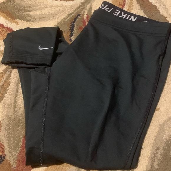 Nike pro full length leggings m